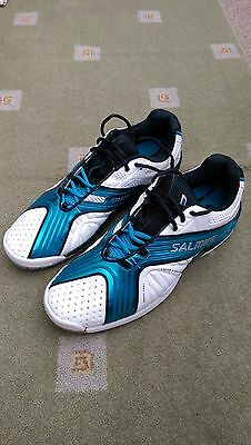 Men's Salming xfactor squash shoes size UK 11.5