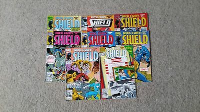 Job Lot Of American Comics Featuring Nick Fury x 8 issues