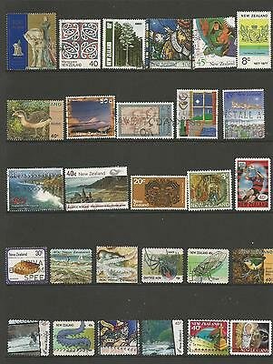 28 New Zealand Stamps used