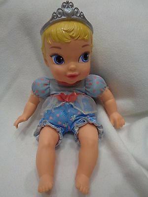"""12"""" First Disney Princess Baby Doll With Tiara. Soft Body. Pretty Face"""