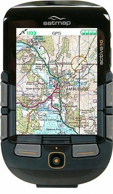 Satmap Active 10 Plus Gps With Additional Extra Maps And Numerous Accesories