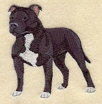 Staffordshire Bull Terrier Standing (e) Embroidery Patch