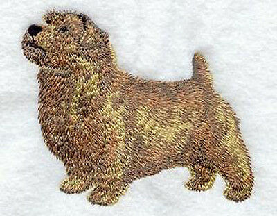 Norfolk Terrier Standing Embroidery Patch Fixed Listing