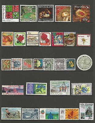 29 New Zealand Stamps used 3