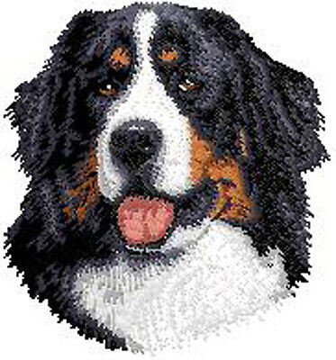 Bernese Mountain Dog Embroidery Patch