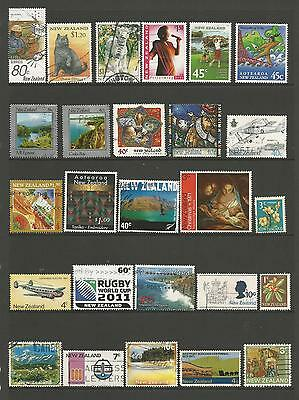 26 New Zealand Stamps used 4