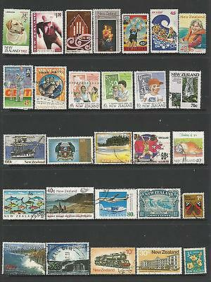 28 New Zealand Stamps used 4