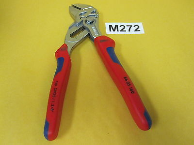"""Knipex Tools 8605180 Pliers Wrench 7""""  with Comfort Grips"""