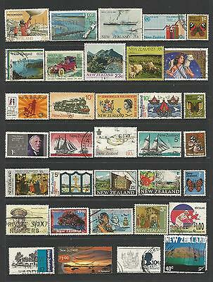 34 New Zealand Stamps used 4