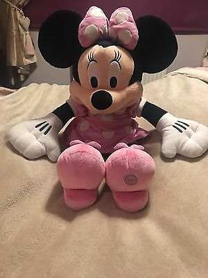 Disney Extra Large Minnie Mouse Plush Soft Toy Stamped