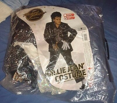 michael jackson official billie jean outfit costume size large very rare