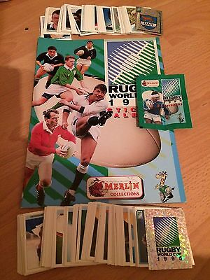 Complete Loose Set 288 Rugby World Cup 1995 Panini Stickers Excellent Condition