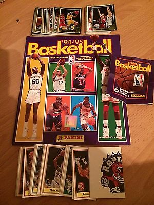 Complete Loose Set 230 Basketball 94/95 Panini Stickers Excellent Condition