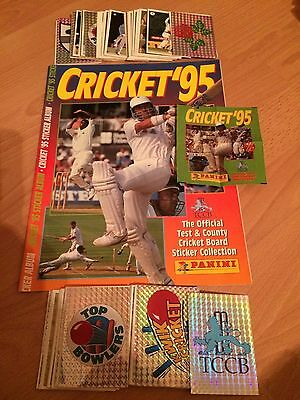 Complete Loose Set 168 Cricket 1995 Panini Stickers Excellent Condition