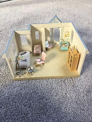 Sylvanian Families Hospital / Clinic with Accessories and Figures