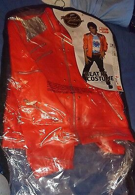 michael jackson official beat it outfit costume size medium very rare