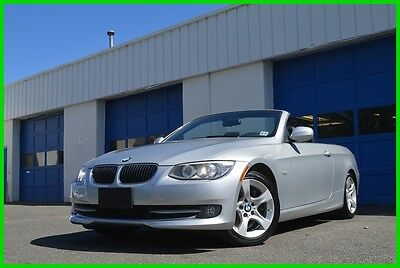 2013 BMW 3-Series 335i Cabriolet Power Hard Top Save Big Leather Interior Heated Seats Bluetooth Parking Sensors Full Power Options More