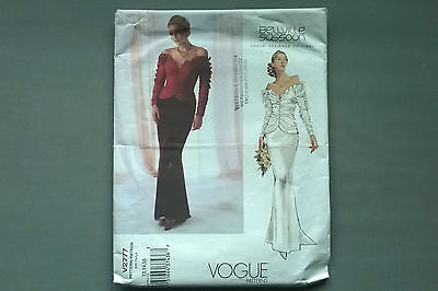 Vogue Sewing Pattern # V2777 sizes 12-14-16 Wedding Dress by Bellville Sassoon
