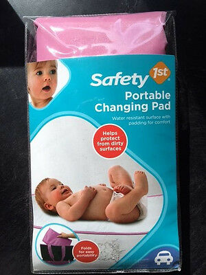 Safety 1st Portable Changing Pad - Pink