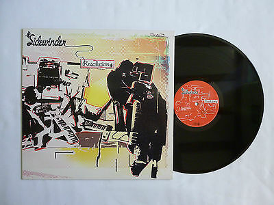 Sidewinder ~ Resolution ~ Vinyl Lp ~ Tiklp001 ~ Quality Near Mint 2003 Uk Orig'