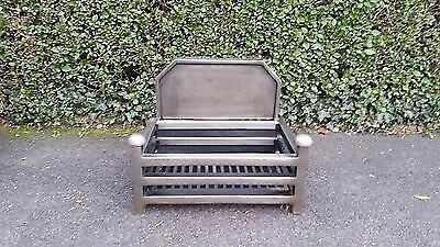 RRP £249 Fire Basket Cast Iron Gallery modern traditional Grate