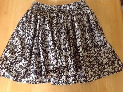 NEXT Floral Lined Skirt Age 10