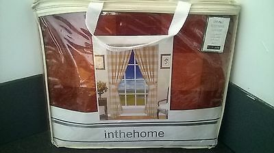 46 x 54 fully lined luxury pencil pleat ready made curtains     382