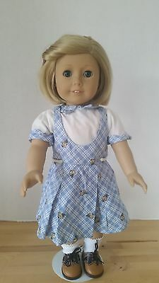 """American Girl 18"""" Kit Doll In  School Outfit"""