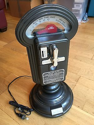 Parking meter radio cassette player. THOMAS Collector's Edition. US plug.