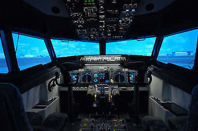 SPECIAL OFFER! 60 minute Boeing 737 Flight Simulator Experience - Peterborough