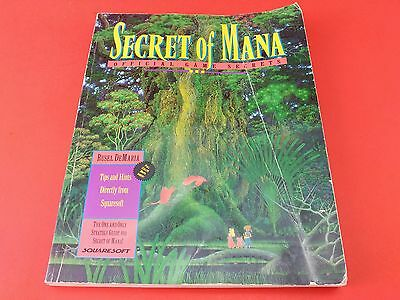 Secret of Mana [Official Guide, No Game] (Super Nintendo SNES)