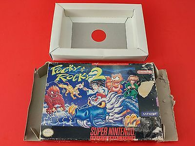 Pocky and Rocky 2 [Box Only] (Super Nintendo SNES)