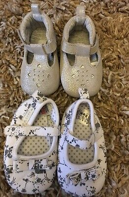 Baby Girls 3-6 Months Shoes Next M&S