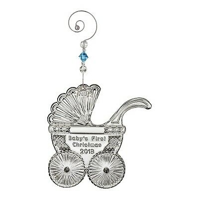 NEW Waterford Crystal 2013 Baby's First Ornament