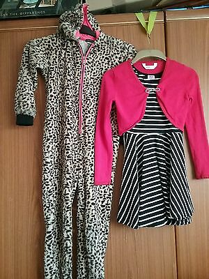 river island onsie dress and cardigan