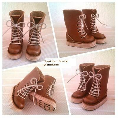 Neo Blythe handmade leather brown boots