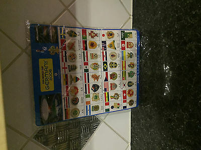 World Cup 2006-Metal Pin Badges 33 different- Ultimate Xmas gift for Dad-BNOC