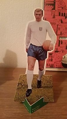 Bobby Moore England Card Stand up Figure from Football Comic