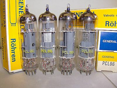 PCL86 valvola tube pcl86 General nuova NOS x1