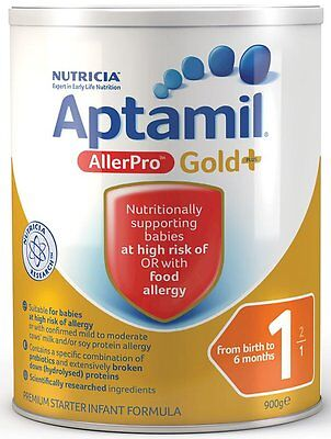 Nutricia Aptamil AllerPro Gold+ 1 Infant Formula 0-6 month 900g
