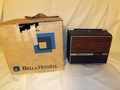 Vintage Bell & Howell 8mm Super 8mm Autoload Model 471A Movie Projector