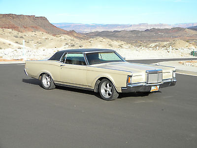 1971 Lincoln Mark Series Continental Mark III Runs/Drives Great Tastefully Upgraded Desert Southwest Car Exc Patina LOW RESRV