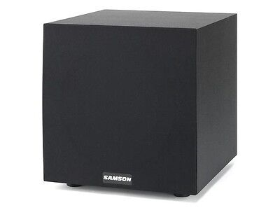 "Samson  MEDIAONE10S 100W 10"" Powered Sub"