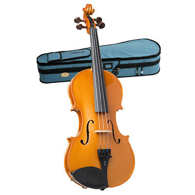 STENTOR - Harlequin Series. 4/4 violin outfit.  Metallic Bronze