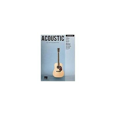 Acoustic - 33 top guitar hits in easy arrangements with tab