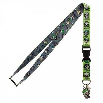 *NEW* Bioworld Suicide Squad Skull Lanyard
