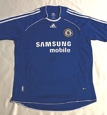 Frank Lampard Signed Chelsea Football Club Shirt with COA