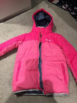 Girls Pink Regatta Lightweight Puffer Jacket