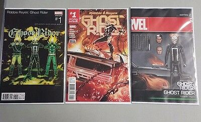 GHOST RIDER #1 3-Cover Variant Set!