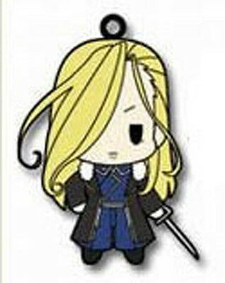 Fullmetal Alchemist Olivia Armstrong Rubber Cell Phone Strap Licensed NEW
